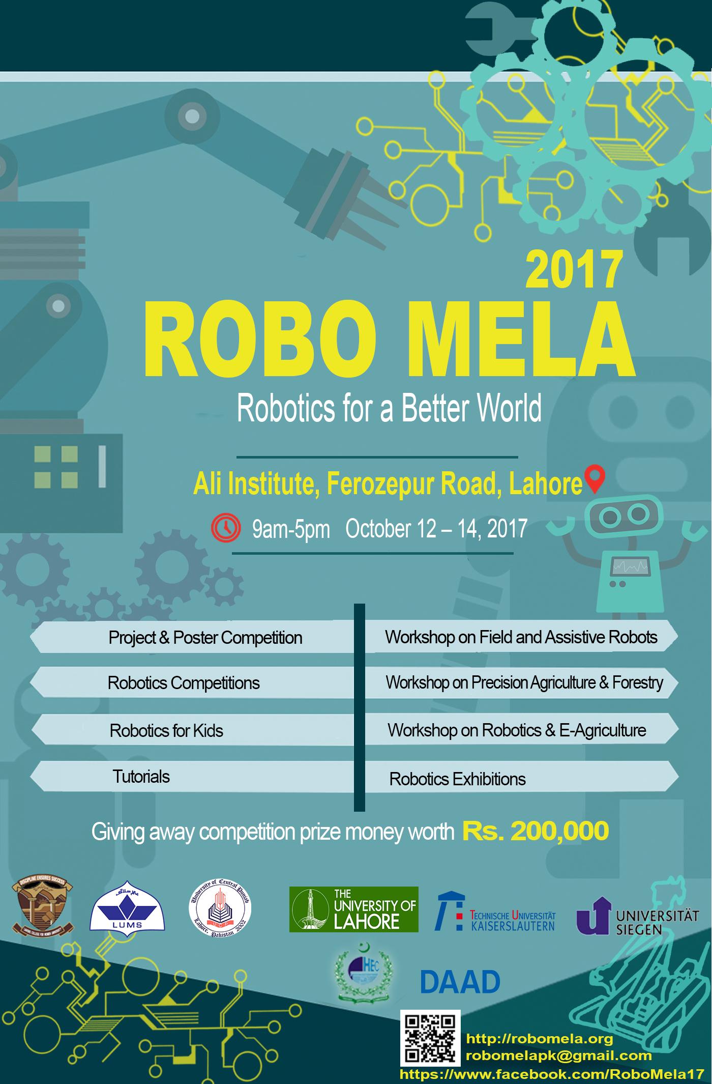 Robo Mela 2017 University Of Central Punjab