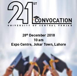 21st Convocation 2018