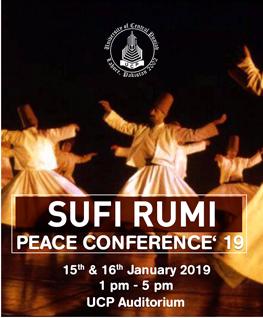 Sufi Rumi Peace Conference 2019